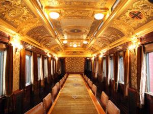 La carrozza n° 10 dell'ex Treno Reale