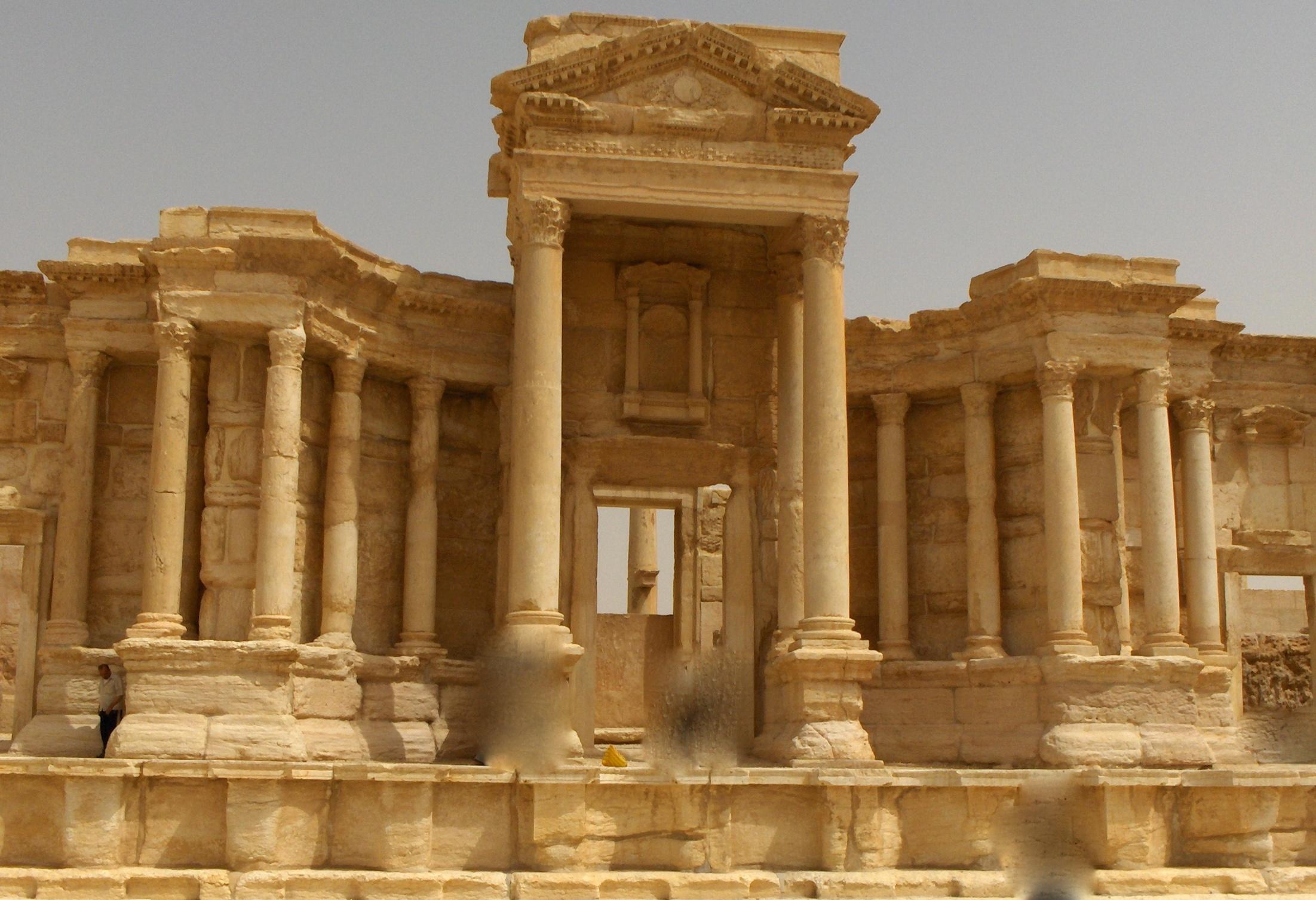 Curiosit sull 39 antica citt di palmira della provincia for Citta della siria che da nome a un pino