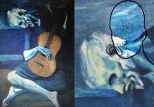 Il vecchio chitarrista cieco, Picasso
