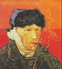Van Gogh Autoritratto con orecchio bendato
